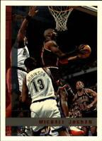 1997-98 Topps Chicago Bulls Basketball Card #123 Michael Jordan
