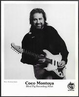 ~ Blues Guitarist Coco Montoya Original 1990s Blind Pig Records Promo Photo