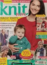 Knit Now Issue 78 Magic Knits For All The Family 27 Expert Tips FREE SHIPPING mc