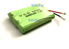 3.6V Ni-MH AAA 800mAh 3-Cell Home Phone Battery Pack w/. Universal connector