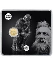"""Pièce Commémorative France 2017, """" Auguste Rodin """" BU."""