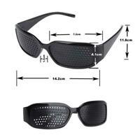 New Eyewear Pinhole EyeGlasses Training Eyesight Improvement Care Vision L7L3