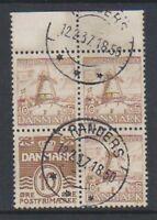 Denmark - 1937, 10 ore + 5 ore Booklet Pane - G/U - SG 271bb