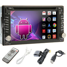 """Android4.4 Navigtion 6.2"""" 2DIN Car DVD Player GPS-3G-Wifi-BT-iPod-RDS-TV-3D-SD"""