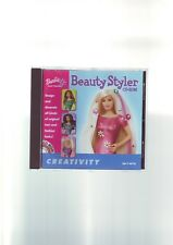 BARBIE : BEAUTY STYLER CD-ROM - GIRLS PC GAME - COMPLETE WITH MANUAL - VGC