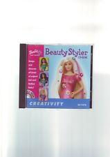 Barbie: Beauté Styler CD-ROM-Filles PC Game-Complet avec Manuel-très bon état