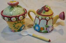 Mary Engelbreit 3 pc Creamer Sugar Set