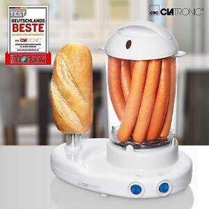 Macchina per Hot Dog maker e Bollitore per Uova 350W Clatronic HDM 3420 EK N