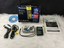 Panasonic Lumix DMC-TZ3 7.2MP Digital Camera with 10x Optical Zoom (Silver)