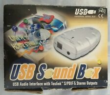 USB Sound Box with cable