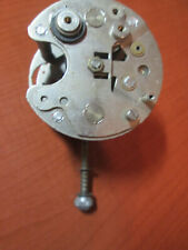 Vintage Unknown Make Clock Movement Electric Motor & Movement As Is Parts (833C)