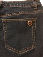 Michael Kors Women's Jeans Dark Blue Stretch Skinny Jeans Size 4 X 29