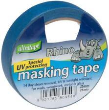 Blue UV Resistant Masking Tape, 25mm x 25m - ULTRATAPE