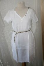 ORIGINAL robe HARRIS WILSON en lin blanc taille 2 ou 38 neuf 80dddf9e631