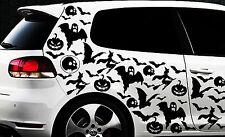111x Halloween Hexe Sterne Star Auto Aufkleber Wandtattoo Hexenkutsche Gothic xx
