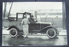Belle photo-pub CITROËN 10 HP Landaulet-Taxi vers 1925 Draeger 14,5 x 20,5 TBE
