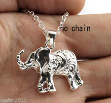 Women Men Silver plated Charms Elegant Pendant Jewelry Gift Without Necklace Hot