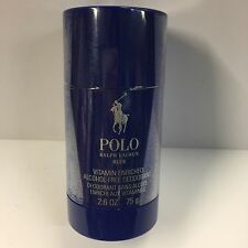 POLO BLUE DEODORANT STICK BY RALPH LAUREN 75g ALCOHOL-FREE ,VITAMIN ENRICHED