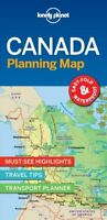 Lonely Planet Canada Planning Map by Lonely Planet 9781787014589   Brand New