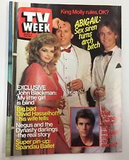 TV WEEK MAGAZINE 1985 ISSUE - 9 MARCH 1985 - SPANDAU BALLET PIN UP