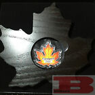CANADA'S COLOURFUL MAPLE LEAF SHAPE COIN - 2016 $20 1 oz Fine Silver Coin - RCM