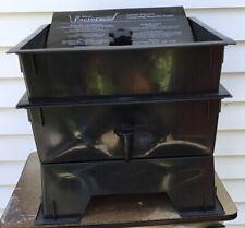 Worm Factory Upward Migration Composting Worm Bin System