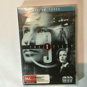 THE X FILES SEASON 3 - DVD 6 DISCS - R4 - NEW/SEALED - FREE POST
