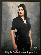 PAGET BREWSTER SIGNED 11X14 PHOTO AUTOGRAPH PSA DNA COA CRIMINAL MINDS