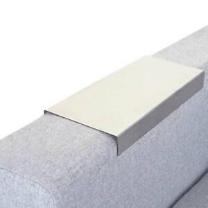 Armlehnen-Ablage MCW-C67, Sofatablett, Edelstahl 25cm Länge, 11,5cm