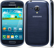 GRADE C Samsung Galaxy S3 Mini i8190 | Blue | Unlocked Home button fault