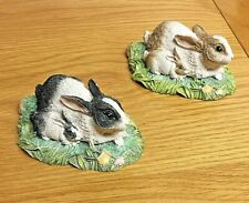 More details for *** 2 x beswick studio sculptures ornaments - rabbits - free uk postage ***