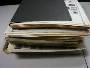 WW, BRITISH COLONIES, 1000s of Stamps hinged/mounted on remainder pages