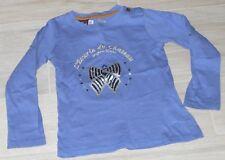 """5204 - T-shirt ML 5 ans SERGENT MAJOR bleu """"Les écuries du château"""""""