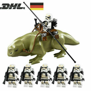 7Stk STAR WARS Set Stormtrooper Dewback Clone Trooper Armee Minifiguren Geschenk