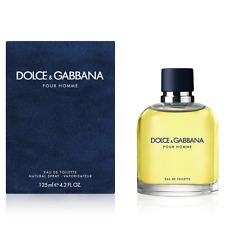 c600eef5de DOLCE GABBANA Pour Homme Perfume for Men 4.2 oz 125 ML New Eau De Toilette