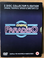 Cinema Paradiso 1988 Award-Winning Italian Classic Arrow Video UK DVD