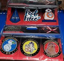 Disney Pins Star Wars Resistance Jedi Feel The Force Bb-8 Jedi Feel the Force