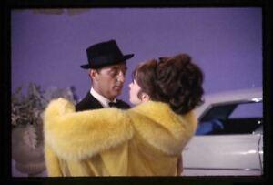 Shirley MacLaine Robert Mitchum Vivid Color Original stamped Transparency 1964