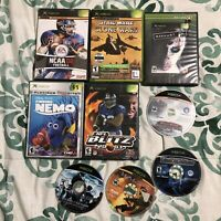Original Xbox 9 Game Disc Non-Working Lot *games have wear,may need resurfacing