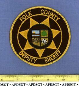 POLK COUNTY DEPUTY SHERIFF ARKANSAS Police Patch SCHOOL BOOK SUN HILLS LAKE