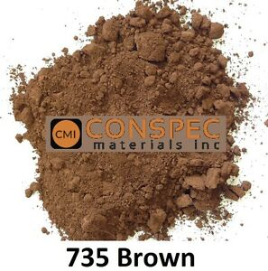 Custom curbing concrete edging landscaping Art Borders DIY Color 735 BROWN 3 LBS