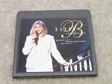 Barbra Streisand The Concert (Act II Only) Vintage Mini Disc