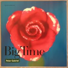 "PETER GABRIEL - Big Time - 12"" Single (Vinyl LP) Geffen 20600"