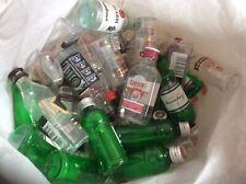 50 X Empty Miniture Spirit Bottles For Wedding Favours