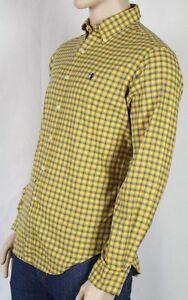 Ralph Lauren Yellow Blue Red Classic Dress Shirt NWT