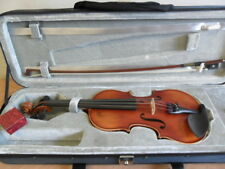 EXCELLENT QUALITY 1/2 SIZE GIOVANNI VIOLIN OUTFIT CASE+ BOW+ ROSIN NEW+ UNPLAYED