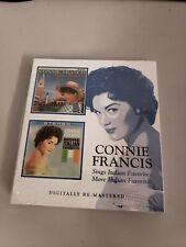 Connie Francis - Sings Italian Favorites/More Italian Favorites [New CD] i2b