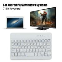 7-8'' Slim Wireless Bluetooth Thai Keyboard Portable For Phone Tablet PC Laptop