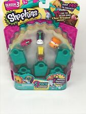 Shopkins NEW Season 3, 5 Pack of Shopkins including 1 Hidden MIXIE/MAXIE NEW