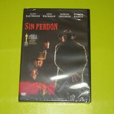 DVD.- SIN PERDON - CLINT EASTWOOD - MORGAN FREEMAN - 4 OSCARS - PRECINTADA